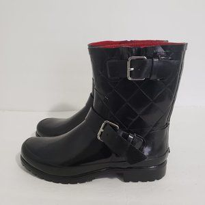 SPERRY TOP SIDER Rubber Rain Boots Womens Size 9